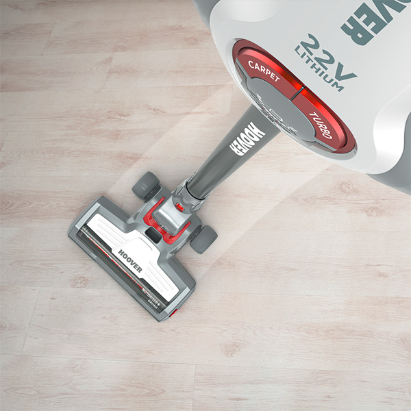H-FREE 700 is powerful on all kinds of flooring